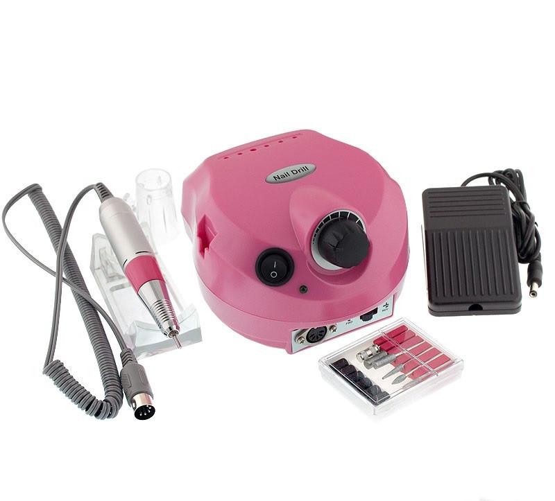 Фрезер US-202 25 тыс.об/мин, 30 вт для маникюра, педекюра и коррекции , розовый