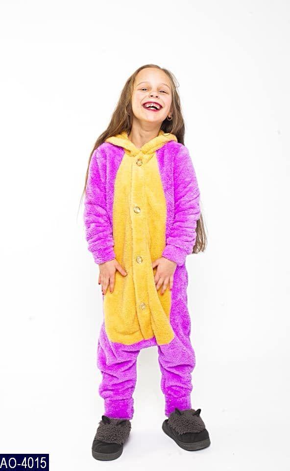 10233a0e1bd238f Детская махровая пижама кигурум 7 км Одесса на рост 104, 116, 128, 140