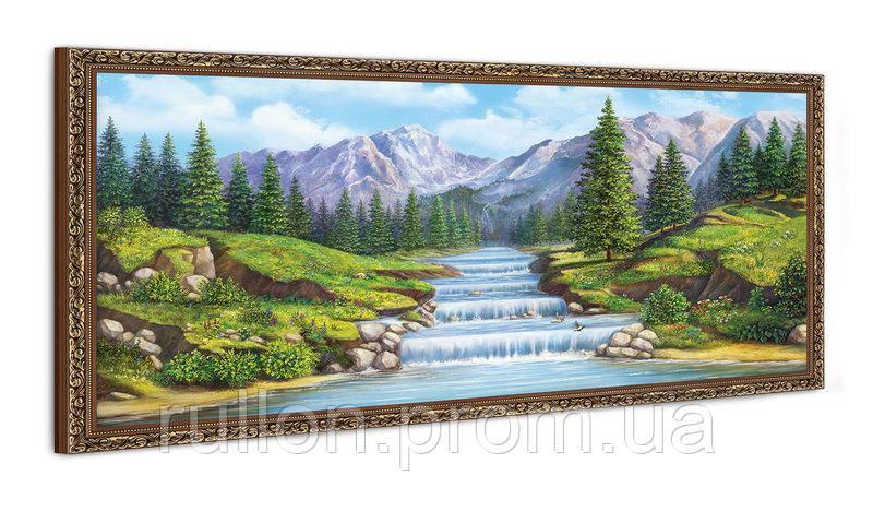 """Картина YS-Art FA542B """"Пороги"""" 50x100"""