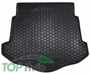 AvtoGumm Гумовий килимок в багажник Ford Mondeo 2007-2014 Ліфтбек (З ДОКАТКОЮ)