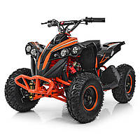 Квадроцикл PROFI HB-EATV1000Q-7 Черно-оранжевый. HB-EATV1000Q