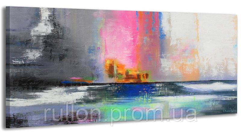 """Картина на холсте YS-Art RRH017 """"Абстракция"""" 50x100"""