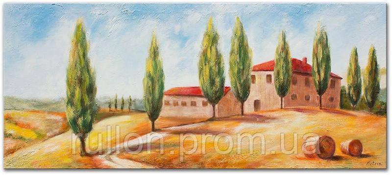 "Картина на холсте YS-Art RRH134 ""Загородный дом"" 50x100"
