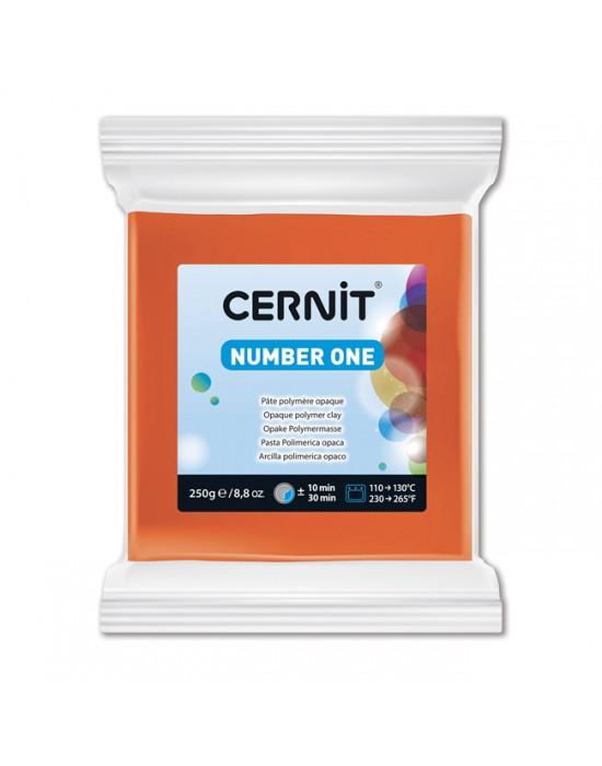 Полимерная глины Цернит Cernit (Бельгия) эконом упак.250 г -оранж 752