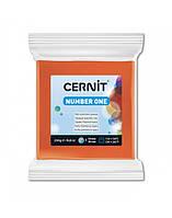 Полимерная глины Цернит Cernit (Бельгия) эконом упак.250 г -оранж 752, фото 1