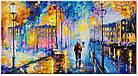 "Картина на холсте YS-Art RRH142 ""Вечерний город"" 50x100     , фото 2"