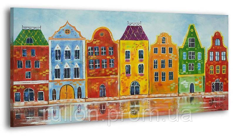 "Картина на холсте YS-Art RRH144 ""Город"" 50x100"
