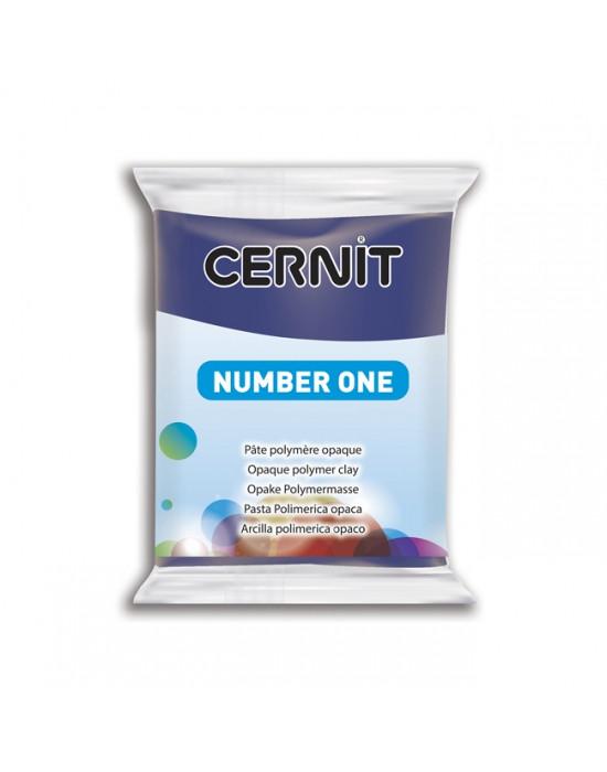 Полимерная глины Цернит Cernit (Бельгия) 56 г. NumberOne морской синий 246