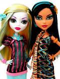 Эксклюзивный Набор Monster High Лагуна Блю и Клео Де Нил Скариж - Scaris Lagoona Blue & Cleo De Nile, фото 2