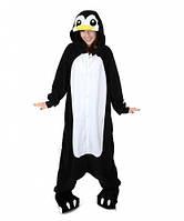 Кигуруми пижама пингвин черно-белый (взрослый) krd0081