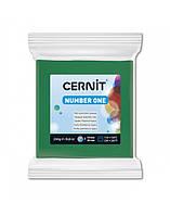Полимерная глины Цернит Cernit (Бельгия) эконом упак.250 г - основной зеленый 600