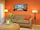 "Картина на холсте YS-Art RRH152 ""Мост с влюблённой парочкой"" 50x100     , фото 3"
