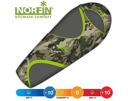 Спальный мешок кокон Norfin Scandic Plus 350 NC L, R, фото 2