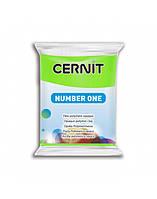 Полимерная глины Цернит Cernit (Бельгия) 56 г. NumberOne зеленое яблоко 611
