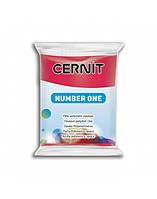 Полимерная глины Цернит Cernit (Бельгия) 56г. NumberOne рождественский красный 463