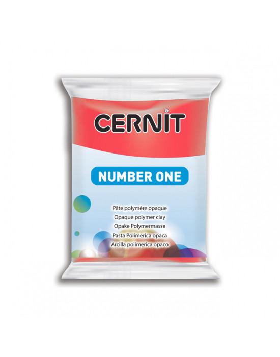 Полимерная глины Цернит Cernit (Бельгия) 56 г. NumberOne 400 красный основной