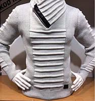 Мужские тёплые турецкие полушерстяные свитера