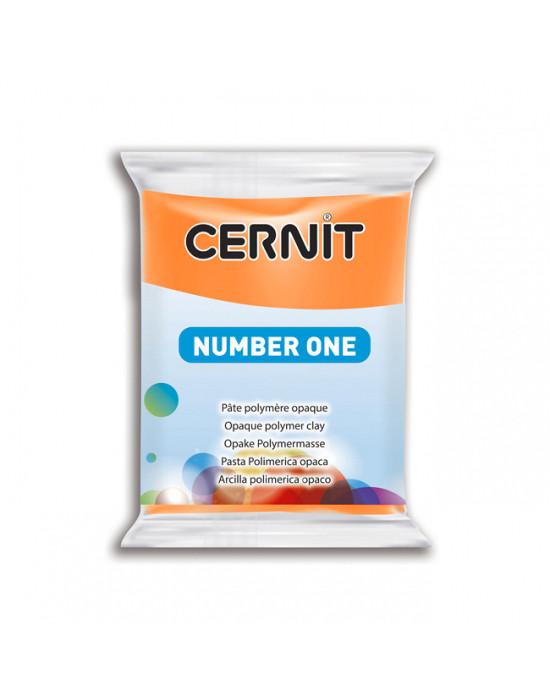 Полимерная глины Цернит Cernit (Бельгия) 56г. NumberOne оранж 752