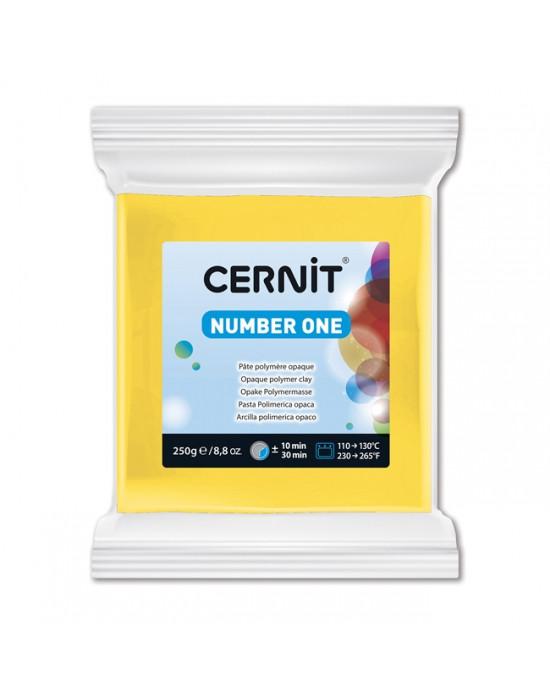 Полимерная глины Цернит Cernit (Бельгия) эконом упак.250 г -желтый 700
