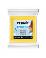 Полимерная глины Цернит Cernit (Бельгия) эконом упак.250 г -желтый 700, фото 1