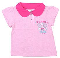 Футболка ValeriTex 185355025006 92 см Розовый, КОД: 261915