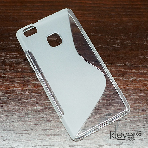 Чехол накладка S-line для Huawei P9 Lite (полу-прозрачный)