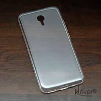 Силиконовый чехол накладка для Mezu M2 Note, фото 1