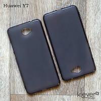 Силиконовый чехол накладка для Huawei Y7, фото 1