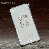 Силиконовый противоударный чехол накладка для Huawei Y6II