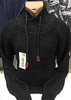 Тёплые турецкие мужские шерстяные свитера , фото 1