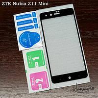 Защитное стекло для ZTE Nubia Z11 Mini (black silk)