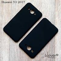 Пластиковый чехол накладка для Huawei Y3 2017 (CRO-U00)
