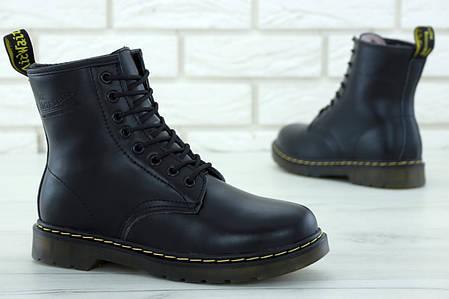 3b9168f907fe Стильные Женские зимние ботинки Dr.Martens с натуральным мехом (36 ...
