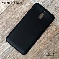 Ультратонкий силиконовый чехол накладка Candy для Meizu M6 Note (черный), фото 1