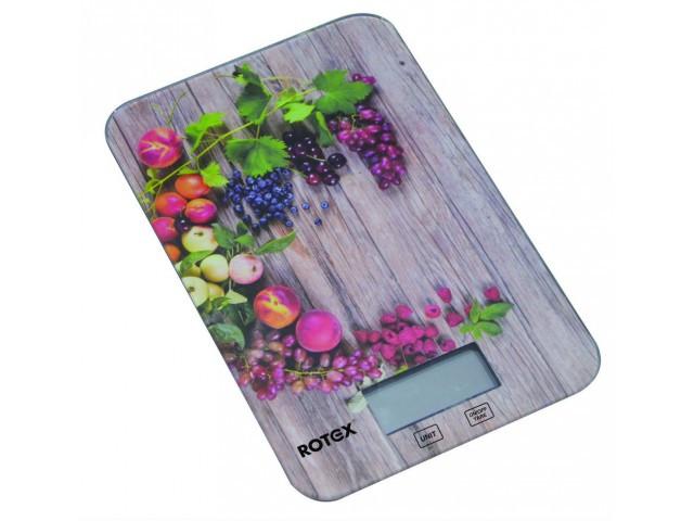 Весы кухонные Rotex RSK 14-P  Grape