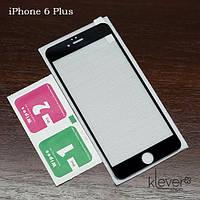 Защитное стекло для Apple iPhone 6 Plus / 6s Plus (black silk)