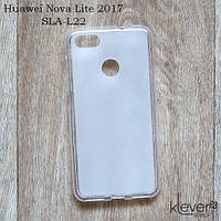 TPU Чехол накладка для Huawei Nova Lite 2017 (SLA-L22) (белый)