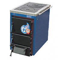 Твердотопливный котел c плитой КОРДИ АКТВ 16 кВт.
