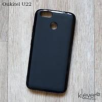 Силиконовый чехол накладка для Oukitel U22 (черный)