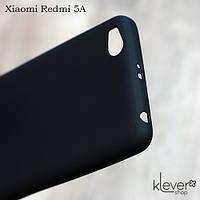 Силиконовый чехол накладка Candy для Xiaomi Redmi 5A (черный)
