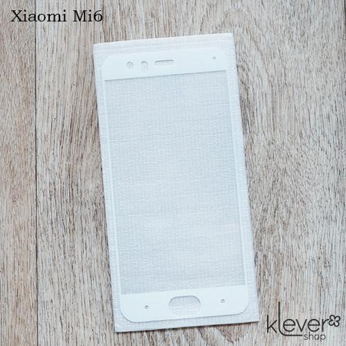 Защитное стекло 2,5D для Xiaomi Mi6 (white silk)