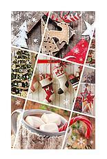 "Пакет ""Новогодний"", 18×11×5 см / Новогодний микс"