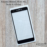 Защитное стекло 3D-soft для Xiaomi Redmi Note 4X, Note 4 Global (black)