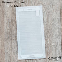 Защитное стекло 2,5D для Huawei P Smart (FIG-LX1) (white silk)