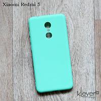 Силиконовый чехол накладка Candy для Xiaomi Redmi 5 (мятный), фото 1