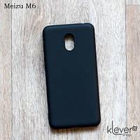 Силиконовый чехол Candy для Meizu M6 (черный)