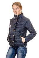 Женская демисезонная куртка IRVIC FK151 46 Темносиний, КОД: 259004