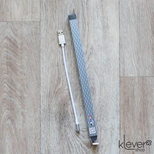 Micro USB кабель King Fire для зарядки (XY-019) (USB - Micro USB, 20 см, белый)
