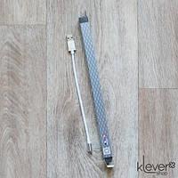 Micro USB кабель King Fire для зарядки (XY-019) (USB - Micro USB, 20 см, белый) , фото 1