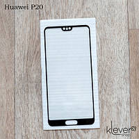Защитное стекло для Huawei P20 (EML-L29), Full Cover, black silk